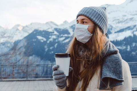 Wearing Mask during Cold Weather to stay away from covid