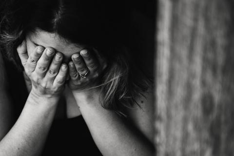 Woman dealing with Post-Partum Depression During COVID-19
