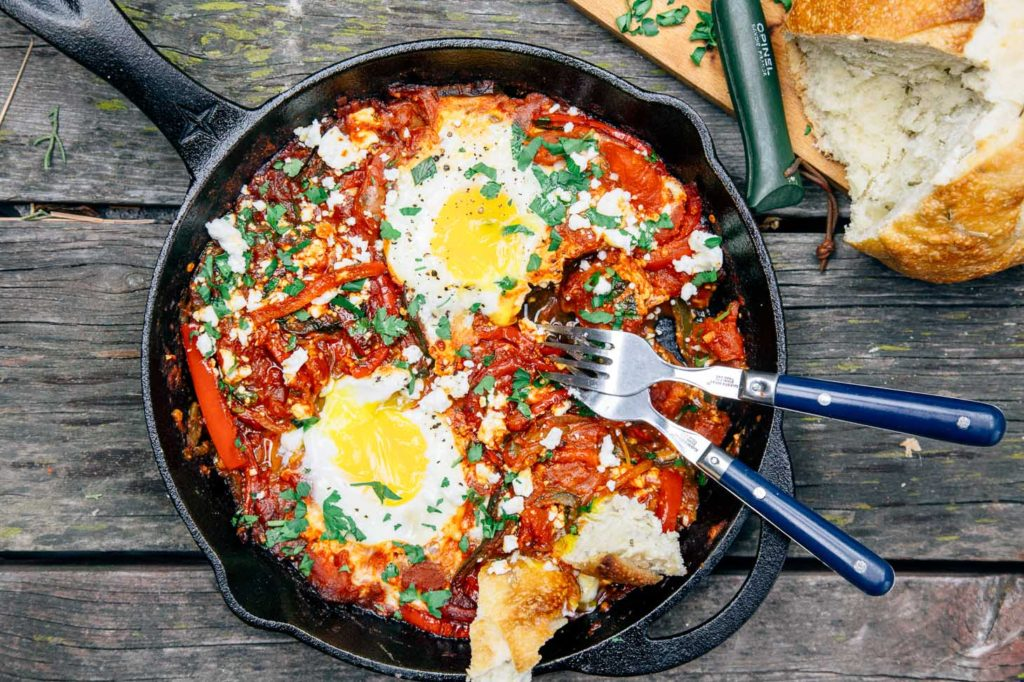 Shakshuka - Camping Recipe by Fresh Off the Grid