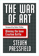 Book - The War Of Art by  Steven Pressfield