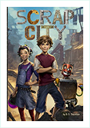 Book - Scrap City Author by  D S Thornton