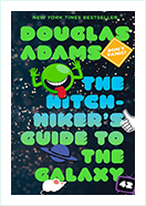 Book - The Hitchhiker's Guide to the Galaxy by  Douglas Adams