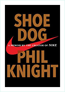 Book - Shoe Dog by  Phil Knight
