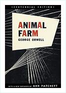 Animal Farm book  by George Orwell