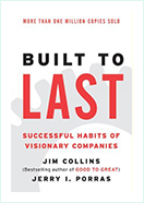Book - Built to last book by James C . Collins , Jerry l. Porras