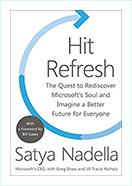 book - Hit Refresh by Satya Nadella