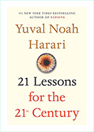 Book - 21 lessons For the 21st Century by Yuval Noah Harari